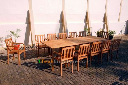 Teak Dining Sets 015 - TS-015
