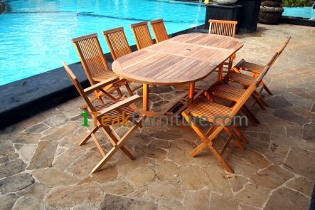 Teak Dining Sets 019 - TS-019