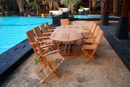 Teak Dining Sets 022 - TS-022
