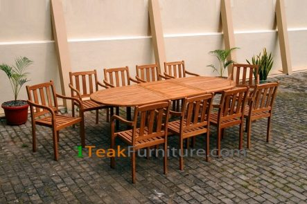 Teak Dining Sets 025 - TS-025
