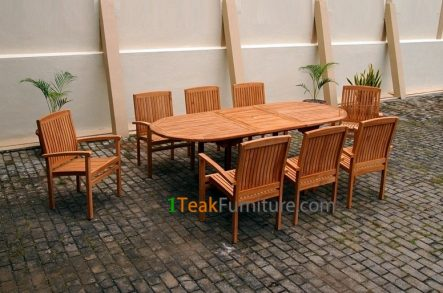 Teak Dining Sets 026 - TS-026