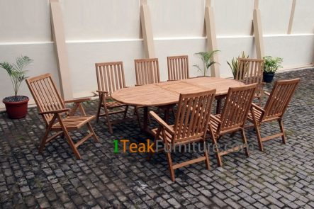 Teak Dining Sets 027 - TS-027