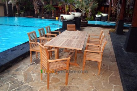Teak Dining Sets 032 - TS-032