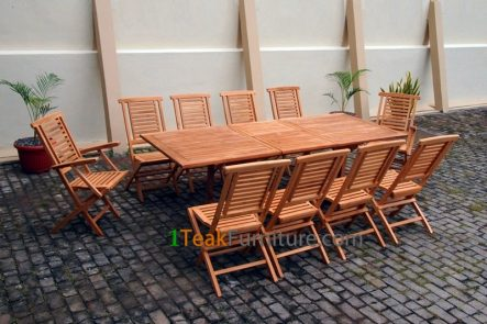 Teak Dining Sets 033 - TS-033