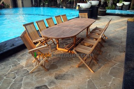 Teak Dining Sets - TS-004