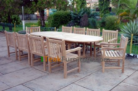 Teak Dining Sets - TS-006