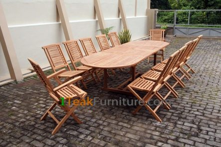 Teak Dining Sets 007 - TS-007