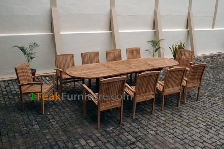 Teak Dining Sets 008 - TS-008