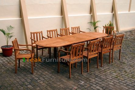 Teak Dining Sets 009 - TS-009
