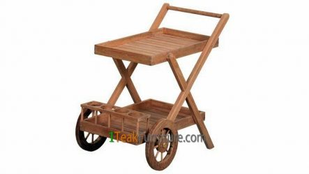 Teak Serving Trolley TA-001