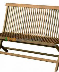 Teak Folding Bench