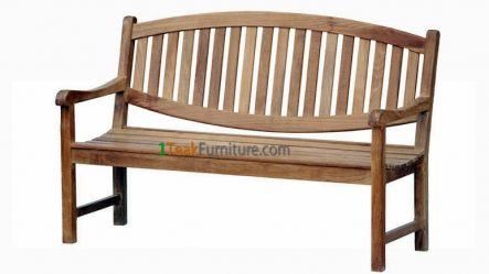 Oval Java Bench 180 TB-008