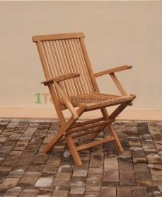Teak Folding Chair