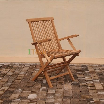 Folding Arm Chair - TC-002