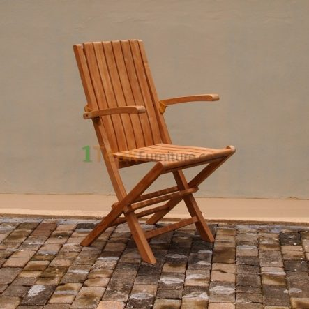 Carla Folding Arm Chair - TC-008