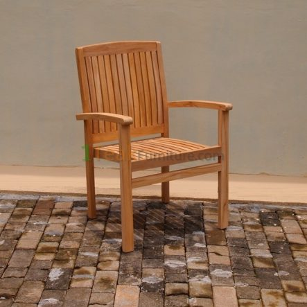 Stacking Arm Chair  -  TC-010