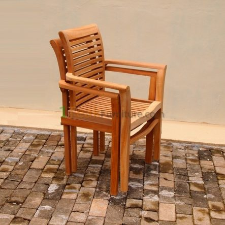 New Stacking Arm Chair- TC-011