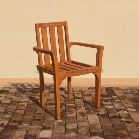 Standard Stacking Arm Chair -TC-012