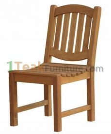 Teak Oval Java Chair