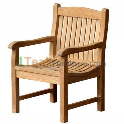 Teak Lengkung Java Arm Chair