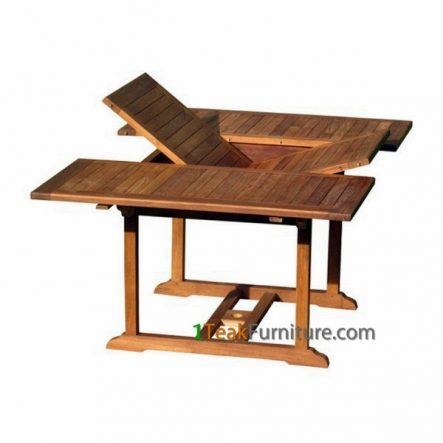 Teak Rectangular Extend Table 120-170 / 120 TT-006A