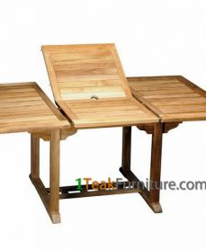 Teak Rectangular Extend Table 120-170 / 100