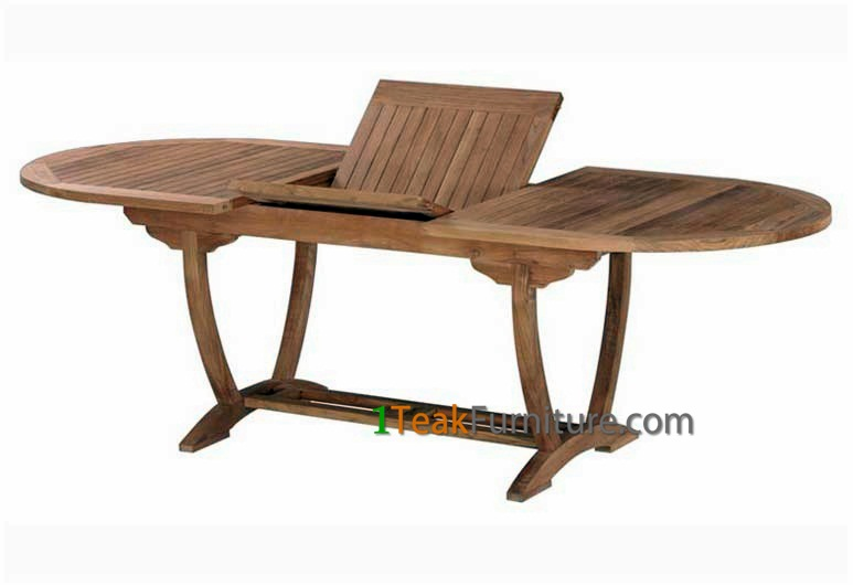 Teak Horizon Oval Extend Table 170-230 / 120
