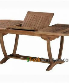 Teak Horizon Oval Extend Table 170-230 / 100