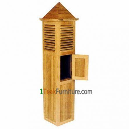 Teak Letter Box, TA-012