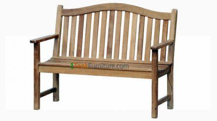 Teca Jardin Bench 120