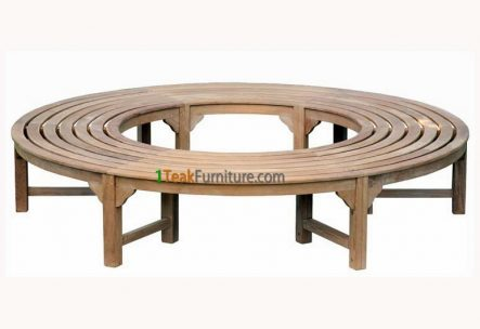 Backless Tree Bench