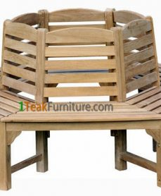 Octagonal Tree Bench