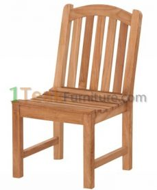 Teak Curved Java Chair