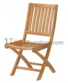 Teak Jakarta Folding Chair