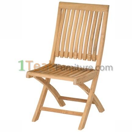 Teak Hilton Folding Chair
