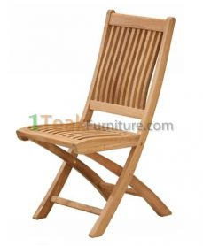 Mobili Teak folding Chair