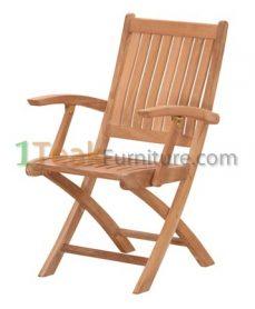 Teak Stuhl Folding Arm Chair