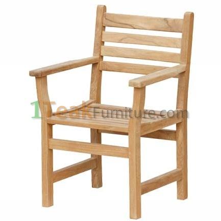 Teak Diva Arm Chair
