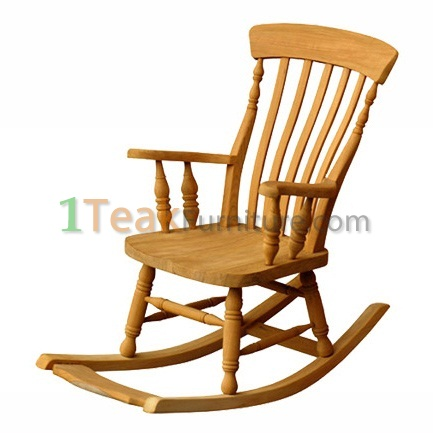Teak Queen Rocking Chair