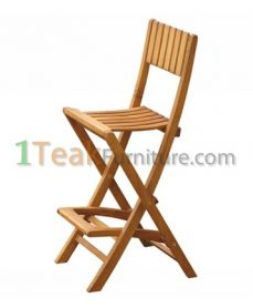 Teak Bali Bar Chair