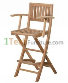 Teak Denpasar Bar Arm Chair
