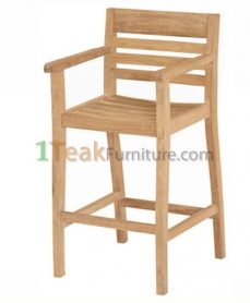 Teak Kuta Bar Arm Chair