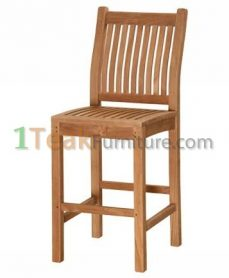 Tuin Teak Bar Chair
