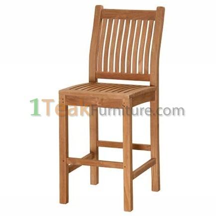 Tuin Teak Bar Chair