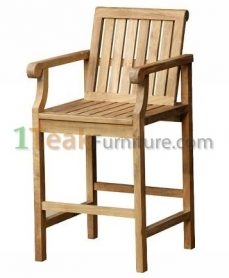 Teak Mobler Bar Arm Chair