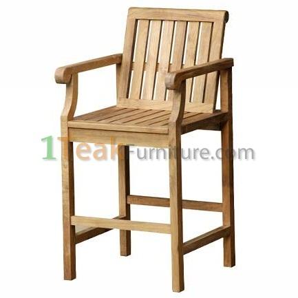 Teak Mobler Bar Arm Chair