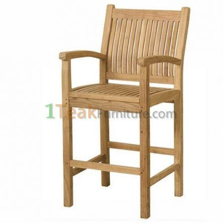 Teak Indonesia Bar Arm Chair