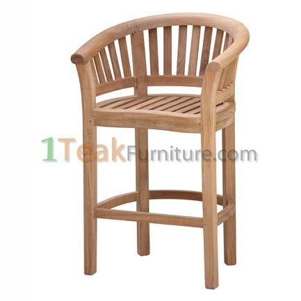 Teak Banana Chair