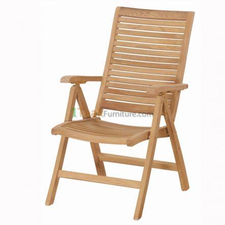Teak Horizon Reclining Chair