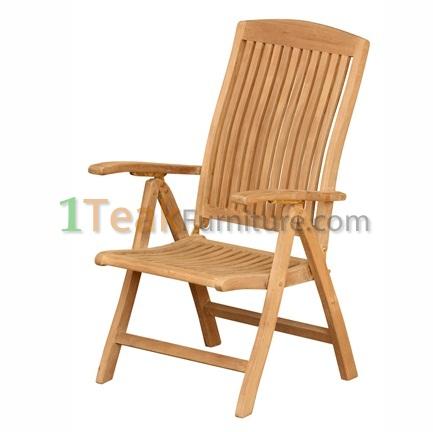 Teak Audia Reclining Chair